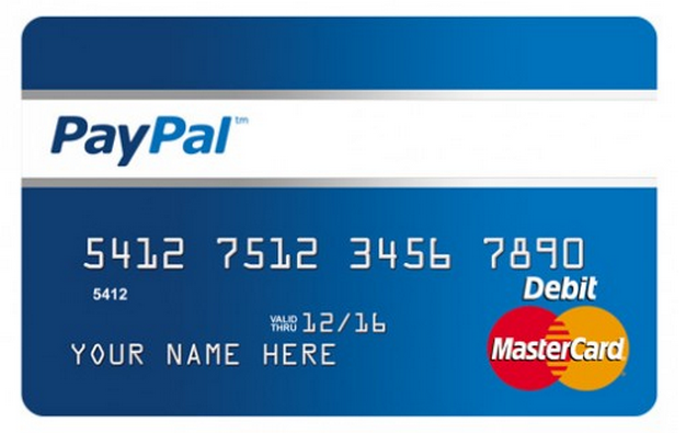 PalPal MasterCard as a funding method for casinos online