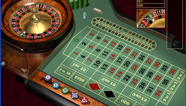 Online Roulette Money Table