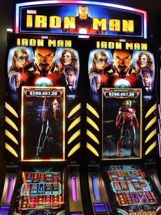 Iron Man Slots Game Symbols