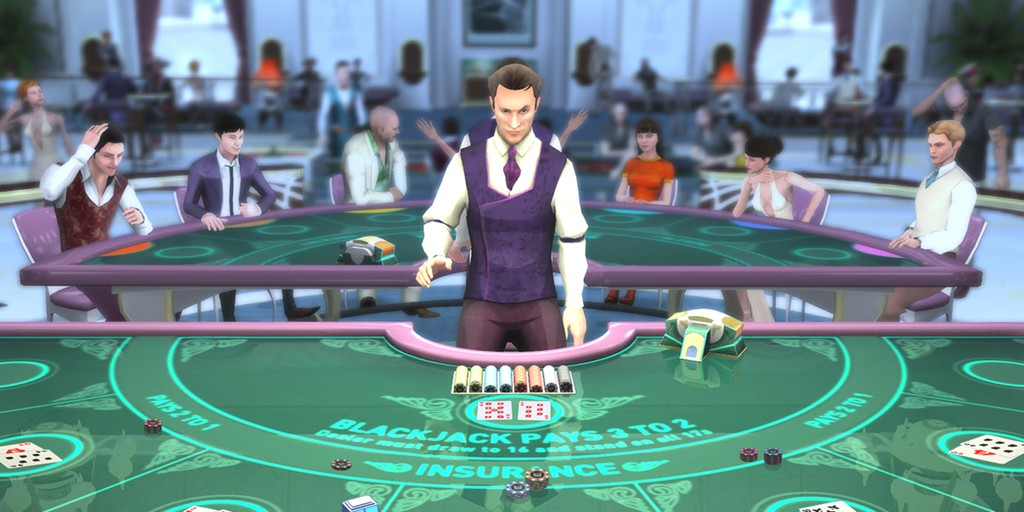 Poker with VR Casino